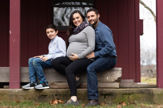 beautiful young family Fairfield connecticut courtney lewis portrait photography